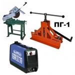 Комплект ручного оборудования для производства парников, теплиц, козырьков, навесов